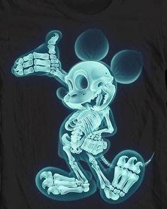 via; Graffiti Mickey Mouse Unknown Artist