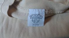 90's orginal Skatewear Droors T-Shirt label front