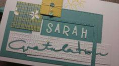 Sahra's Glückwunsch Karte zur bestandenen Stomaschwester- Ausbildung