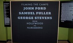 From Hollywood to Nuremberg...a powerful new exhibit opened at the Atlanta History Center with footage from  war and the liberation of Nazi concentration camps.