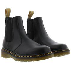 Designer Clothes, Shoes & Bags for Women Dr Martens Boots, Dr. Martens, Vegan Boots, Black Faux Leather, Black Boots, Leather Shoes, Vegan Leather, Chelsea Boots, Luxury Fashion