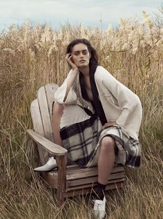 Elle Australia | August, 2014 | Model Jenna Klein | Photographed by Holly Blake | Styled by Sara Smith