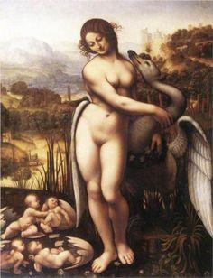 Leda and the Swan - Leonardo da Vinci