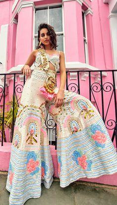Indian Fashion Designers, Indian Designer Outfits, Designer Dresses, Indian Wedding Outfits, Indian Outfits, Mehendi Outfits, Indian Fashion Dresses, Fashion Outfits, Designer Jumpsuits