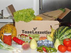 Taze ve Lezzetli bir paket .. tazelezzetler.com