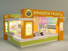 Smoothie Factory Designs by Tina Marie Lane, via Behance