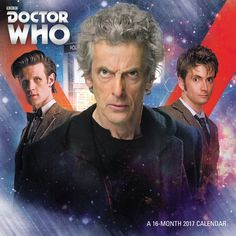 Order Your Doctor Who 2017 Calendar Now!
