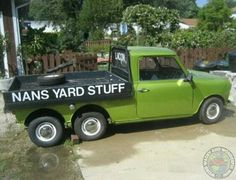 When it comes to Unusual Commercial Minis then I would say you have to go a long long way to top a 6 Wheeled Flatbed Ute! And yes... I FRICKIN LOVE IT!