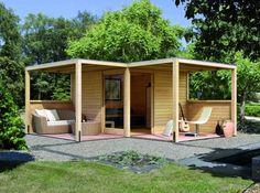 Un espace détente aménagé avec soin jusque dans les abords extérieurs / Crédit photo Pinterest maison-deca.com
