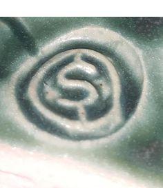 Ballina Pottery teapot, Ireland - S mark OS mark
