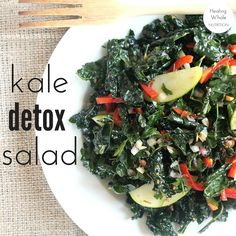 The perfect Holiday detox salad when you need some healthy balance between all those cocktails and cookies!