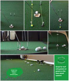 Bulk Putting Turf - Pro Putt Systems Putting Green Turf, Indoor Putting Green, Backyard Putting Green, Golf Practice, Tennis Serve, Play Tennis, Tennis Tips, Golf Tips