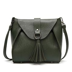 e0777f705 Cropped Top Lady Small Crossbody Bag Women Tassel Accent Cell Phone Purs  Wallet woman Bags Sling
