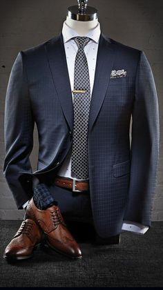 Professional menswear, sharp as a tack.