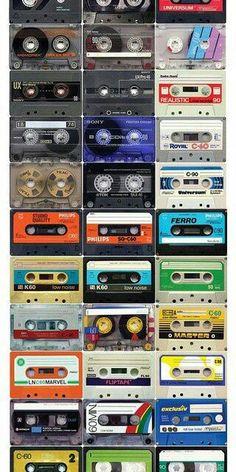 Mix Tapes .. I had so many .. lol