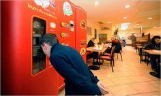 Let's Pizza, máquina expendedora de pizzas