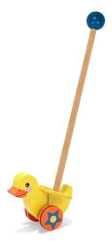 Melissa & Doug Flapping Duck Push Toy by Melissa & Doug, http://www.amazon.com/dp/B003AHAGT0/ref=cm_sw_r_pi_dp_s11vqb1GYND6M