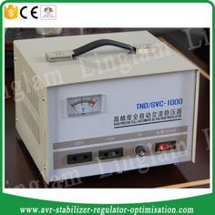 Servo type home voltage regulator 1000va
