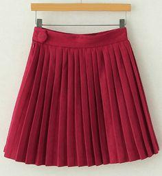 pleated skirt  $14.23  vintage hipster gyaru street fashion street style fachin skirt bottoms under20 under30 sammydress