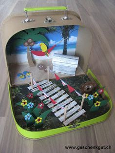 Money Gift Travel Money Vacation Suitcase Birthday - All About Birthday Gifts, Happy Birthday, Christmas Tree Crafts, Travel Money, Paper Smooches, Explosion Box, Woodland Party, Holidays And Events, Little Gifts