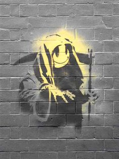 Banksy_ Grim Reaper