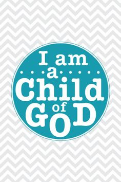 *FREE* Printable! I am a Child of God - 2013 Primary Theme #lds