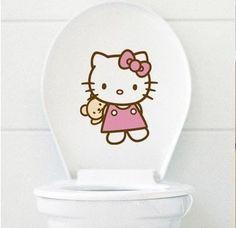 Hello Kitty Toliet sticker