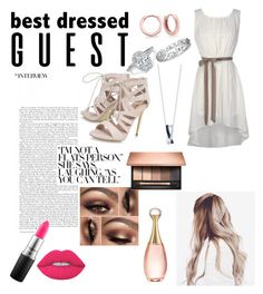 """""""Untitled #27"""" by ajengans on Polyvore featuring Carvela, Clarins, MAC Cosmetics, Lime Crime, Bling Jewelry, Effy Jewelry and Christian Dior"""