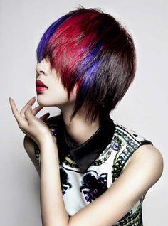 Lúdicas ideas de color de pelo para probar en verano 2016 // #2016 #color #Ideas #Lúdicas #para #pelo #probar #verano