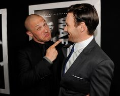 Tom Hardy Joel Edgerton Photos: The Red Carpet at the Premiere of 'Warrior'