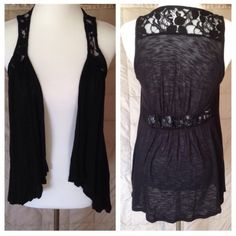 Spotted while shopping on Poshmark: Black lace cover up! #poshmark #fashion #shopping #style #Decree #Tops