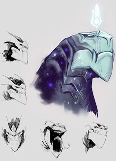 Surrender at Red Post Collection: Aurelion Sol Champion Insights, Aurelion Sol Q&A on on ARAM and CM, and more! Concept Art Alien, Creature Concept Art, Game Concept Art, Creature Design, Character Concept, Character Art, Alien Creatures, Fantasy Creatures, Mythical Creatures