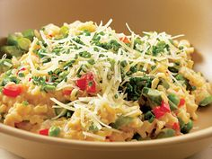 quick and healthy risotto. love.