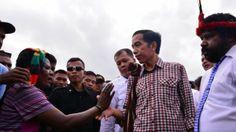 Jokowi: Wong Salaman Sama Rakyat Cuma Mau Pilpres Kok Ngaku Kerakyatan - Yahoo News Indonesia