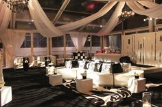 wedding tent ceiling swag - Google Search