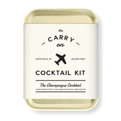 Champange Carry On Cocktail Set