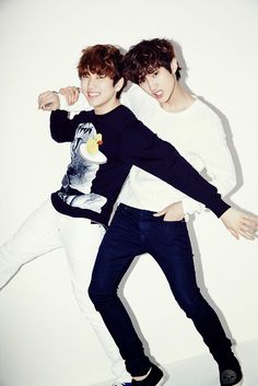 Sandeul and Jin Young - Ceci Magazine April Issue '14