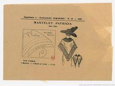 Выкройки женской одежды 1910-1920 гг