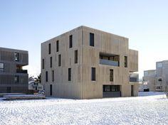 Habitações Listradas / group8 © Régis Golay, FEDERAL studio