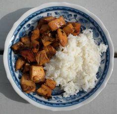 bourbon chicken from Leeann Chin's