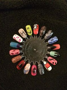 Gemma Divine Garwood has sent us these amazing nail art designs created using GELeration.