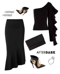 """Untitled #359"" by nehal-esmail ❤ liked on Polyvore featuring Witchery, Beaufille, Christian Louboutin and Betsey Johnson"