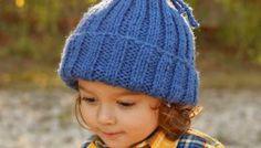 Easiest Kids Hat EVER Knitting Pattern