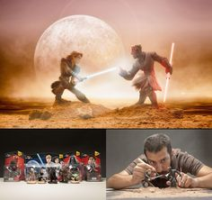 Mexican photographer creates wonderful fotolii using toys 06