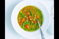 Indická cizrnová polévka Garam Masala, Thai Red Curry, Cooking Recipes, Ethnic Recipes, Soups, Indie, Food, Chef Recipes, Essen