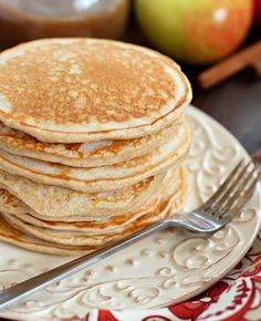 Cinnamon Applesauce Pancakes – Weight Watchers Recipes