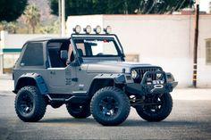 Very tastefully built Jeep.