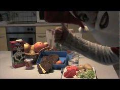 Kabouter Smak en Smul en de actieve voedingsdriehoek