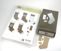 Stampin Up STITCHED STOCKINGS Paper Punch & Stamps BUNDLE Christmas Holiday #StampinUp