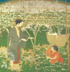 土田麦僊 Tsuchida Bakusen《春》1920年